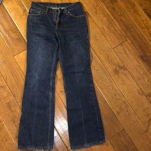 Levi's 517 Boot Cut Low RiseJean